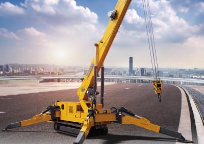 ZQS125-5 Spider crane